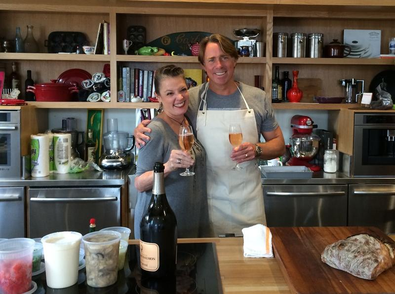 Poppy Tooker and Chef John Besh