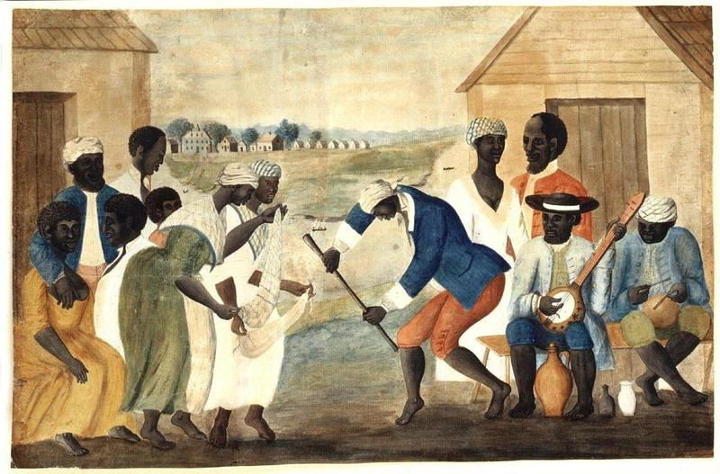 The Old Plantation. Attributed to John Rose, Beaufort County, South Carolina, 1785-1790