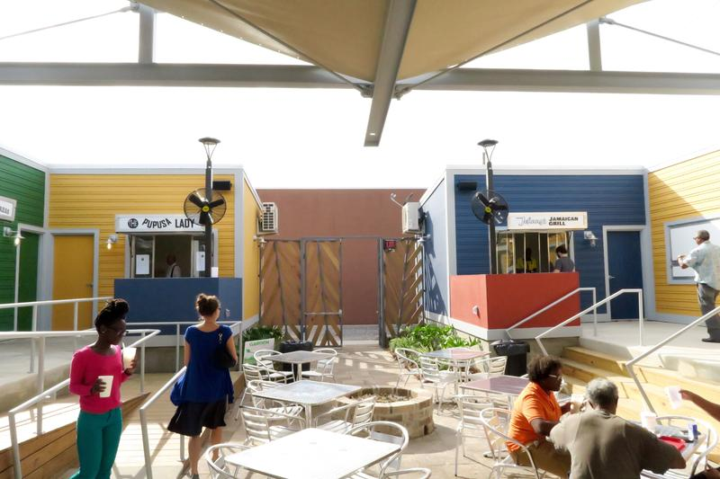 Roux Carre, a new food court from a local nonprofit in Central City.