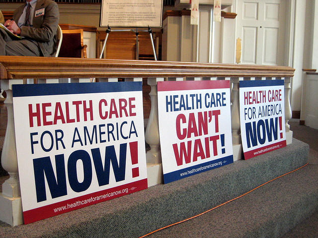 Fighting For Health Care Reform, Cleveland Heights, Ohio, 2009.