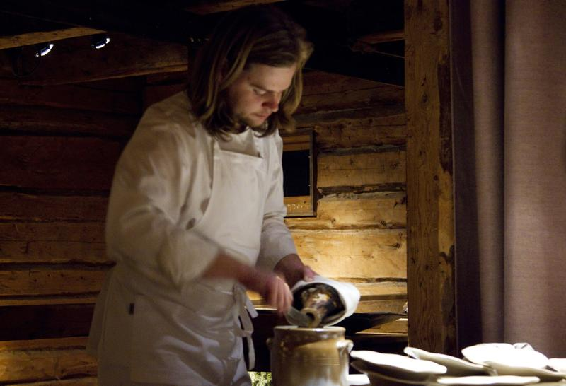 Chef Magnus Nilsson at Fäviken in Sweden.