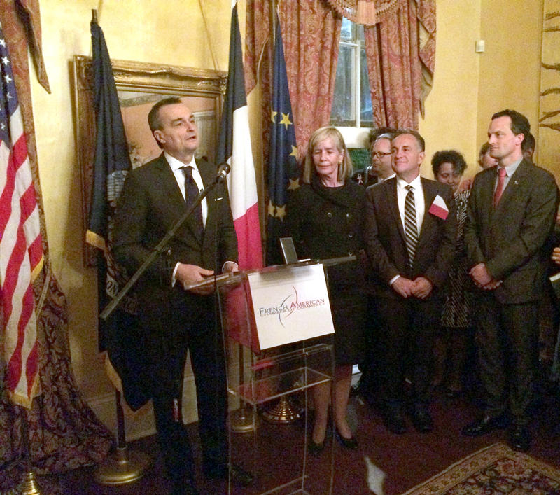 French Ambassador Gerard Araud at the French American Chamber of Commerce in New Orleans.