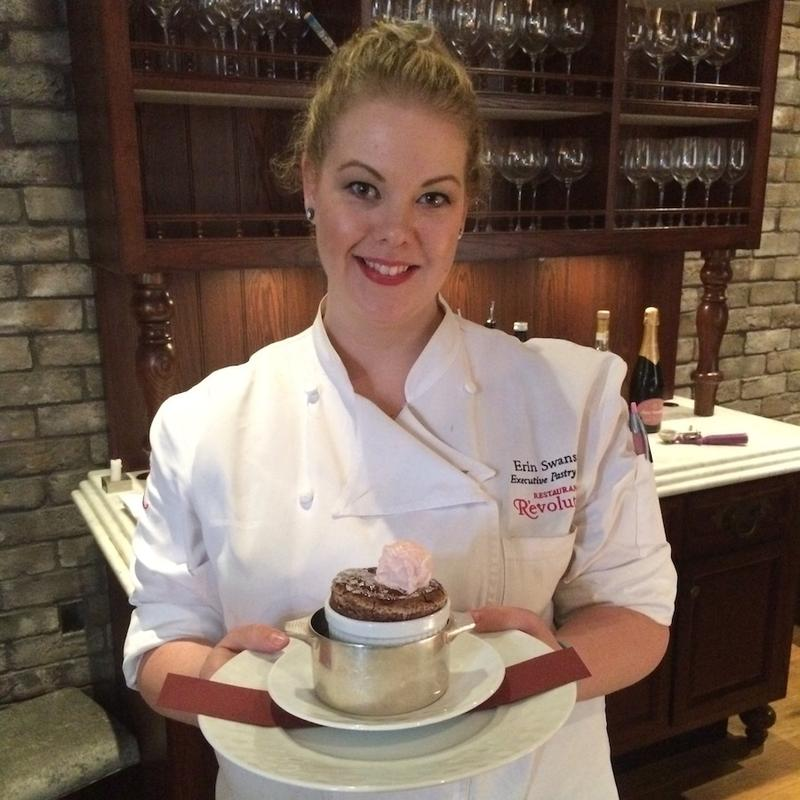 Pastry chef Erin Swanson of Restaurant R'evolution.