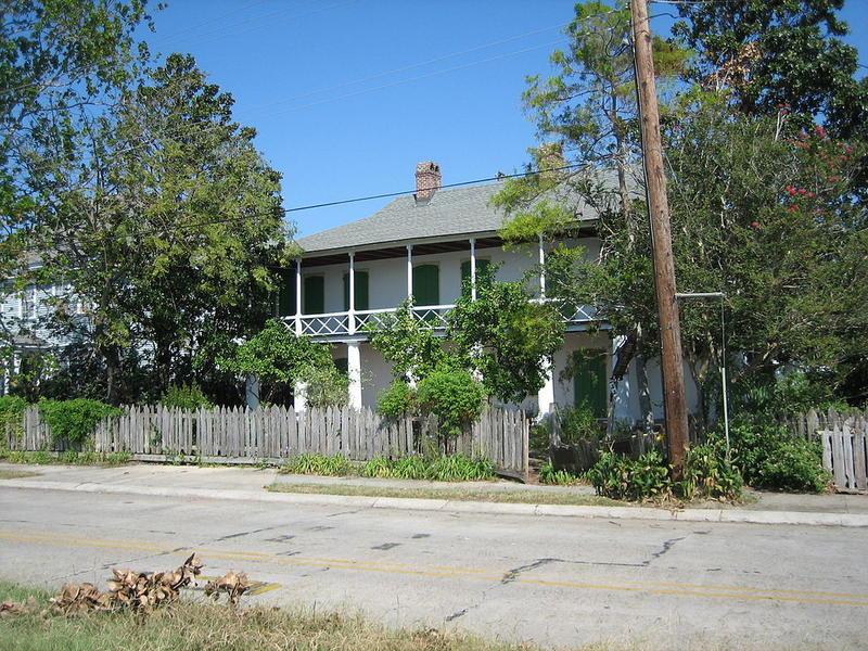 The Pitot House on Bayou St. John is an example of New Orleans' original Creole architecture.