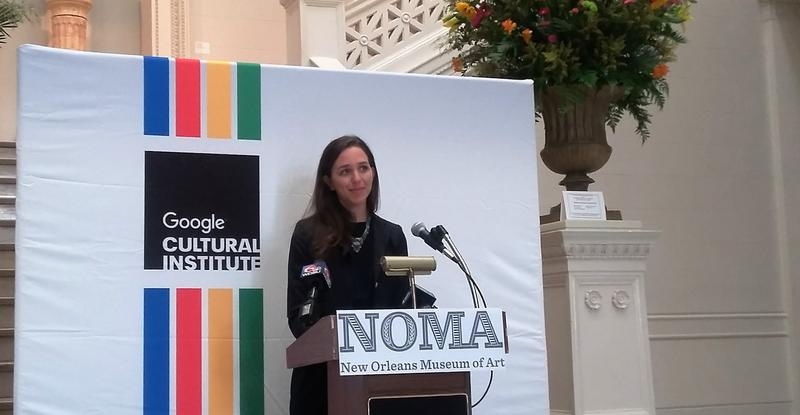 Lucy Schwartz, program manager of Google Cultural Institute, says the impact of Internet access to the collections has been felt around the world.