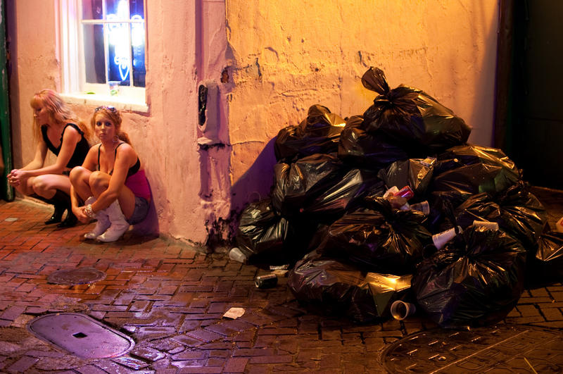 Some of the worst smells in the city can be found on Bourbon Street.