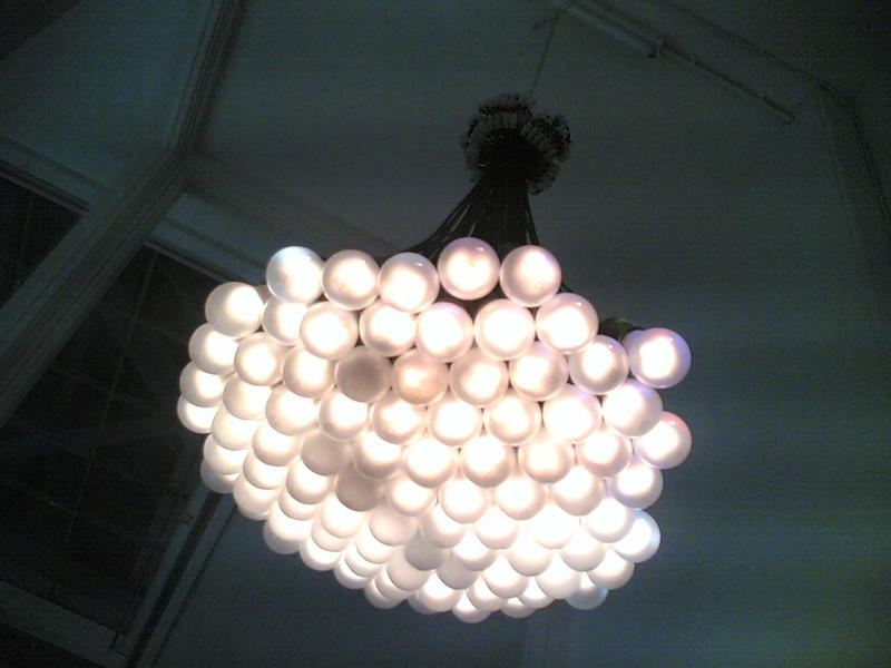 85 Lamps Chandelier by Rody Graumans of Droog Design.