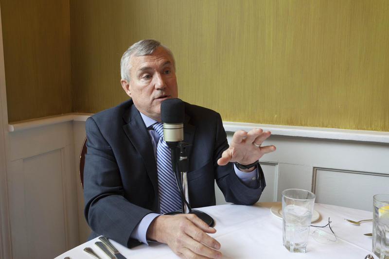 Lenny Alsfeld on this week's Out to Lunch with Peter Ricchiuti.