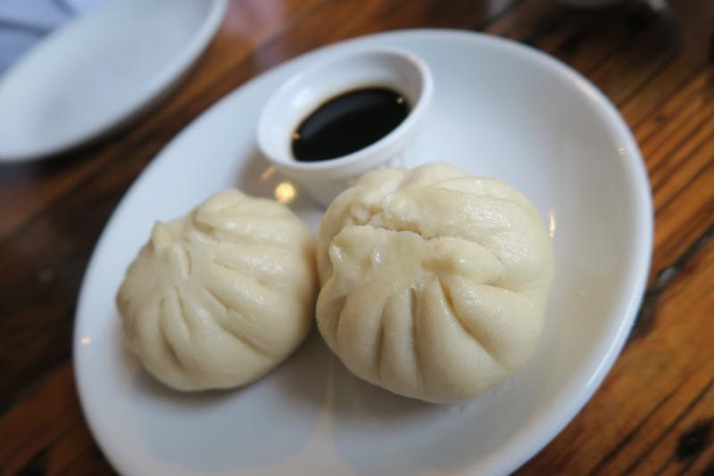 Bao, or Chinese steamed buns, anchor the menu of traditional dishes at Bao & Noodle in New Orleans.