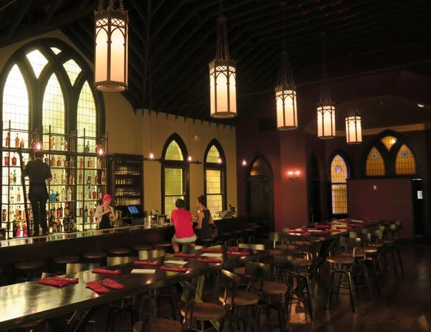 Vessel is a new restaurant in an old New Orleans church.