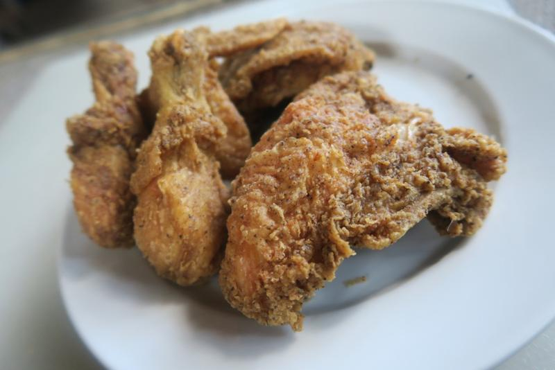 Fried chicken from McHardy's Chicken & Fixin' in New Orleans.