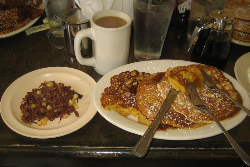 Breakfast at the Original Ruby Slipper Cafe