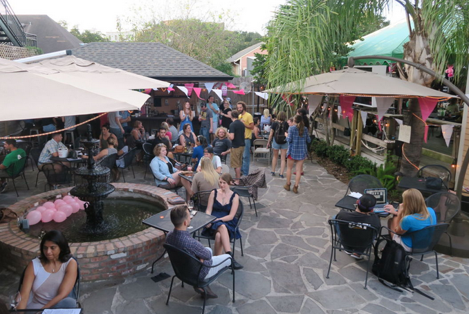 Bayou Wine Garden is one of the new New Orleans spots devoted to the al fresco appeal.
