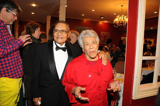 "Edgar ""Dooky"" Chase Jr. and Leah Chase"