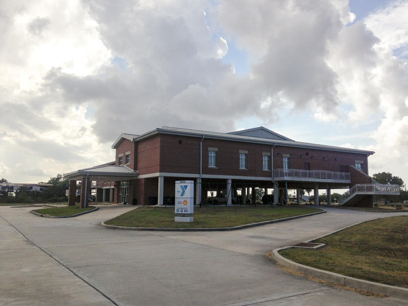 The Buras YMCA was paid for with $8 million from FEMA after Hurricane Katrina. Officials hope new community buildings like this are an incentive for people to continue living here.
