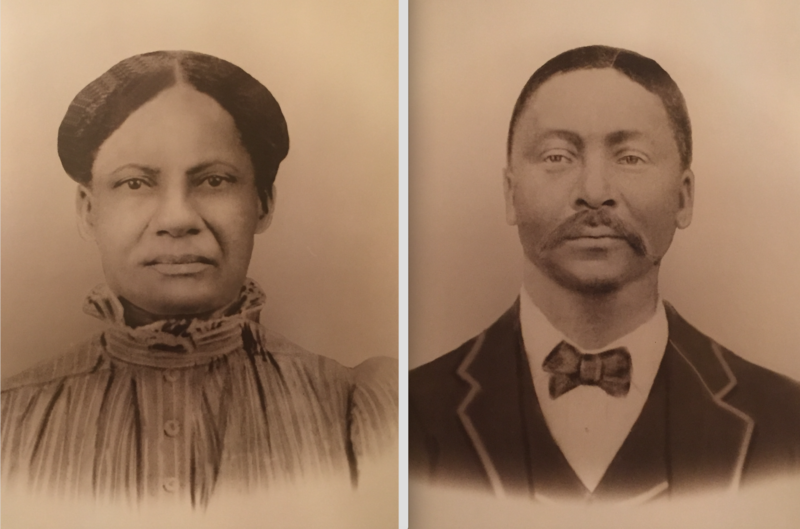 Wm. & Charity Harris are the  great grandparents of Sandra Green Thomas. Wm.'s parents, Betsy Ware & Samuel Harris, were two of the 272 people sold by Georgetown University to two Louisiana plantations in 1838.