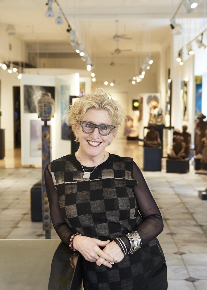 Angela King, gallery owner