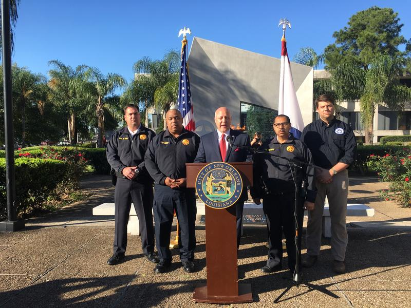 At a press conference with local law enforcement, New Orleans Mayor Mitch Landrieu said the city needs to honor all of its history, not some of it.