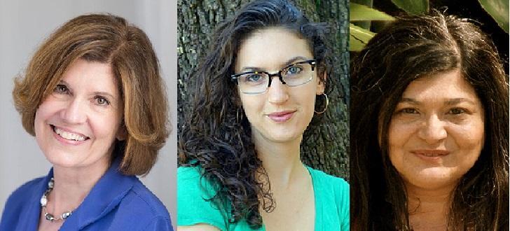 Lynne Olson, Cassie Pruyn, and Gina Ferrara