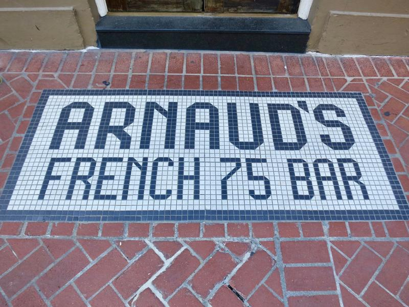 The French 75 Bar recently brought new attention to the old line French Creole restaurant Arnaud's.