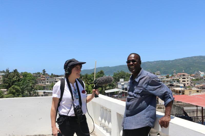 Laine Kaplan-Levenson in Jacmel, Haiti.