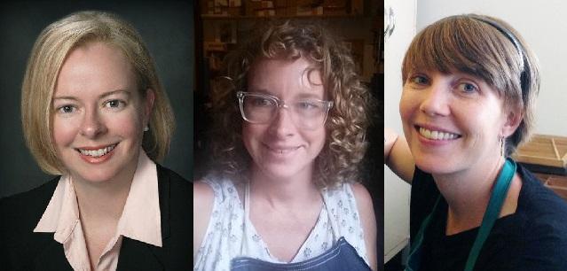 Rebecca Hamilton, Jessica Peterson, Sara White