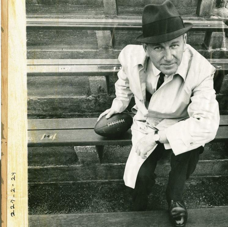 Dave Dixon at a Saints game in the 1960s.