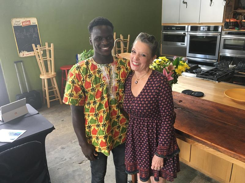 Host Poppy Tooker and Serigne Mbaye