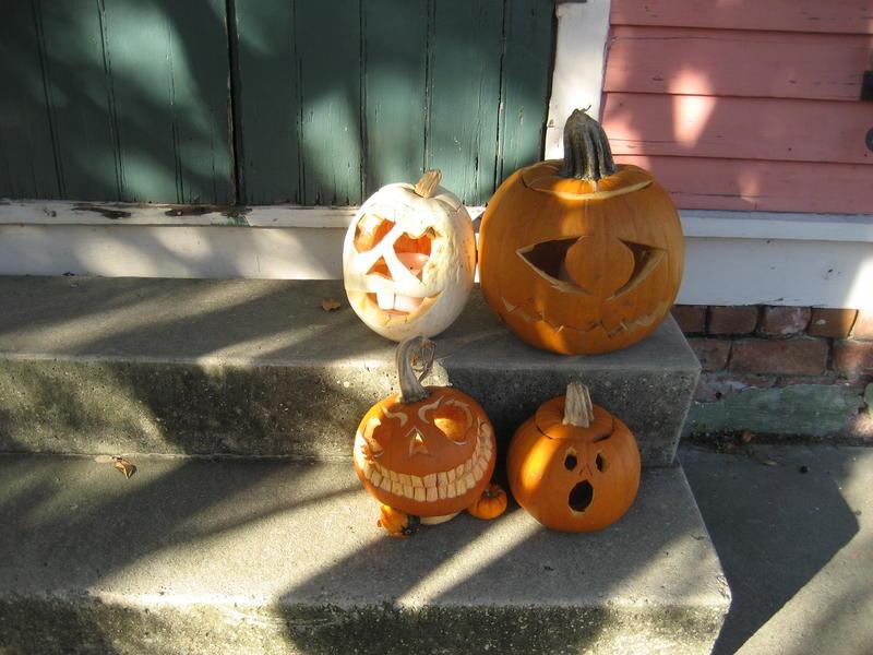 Spooky Jack-O-Lanterns