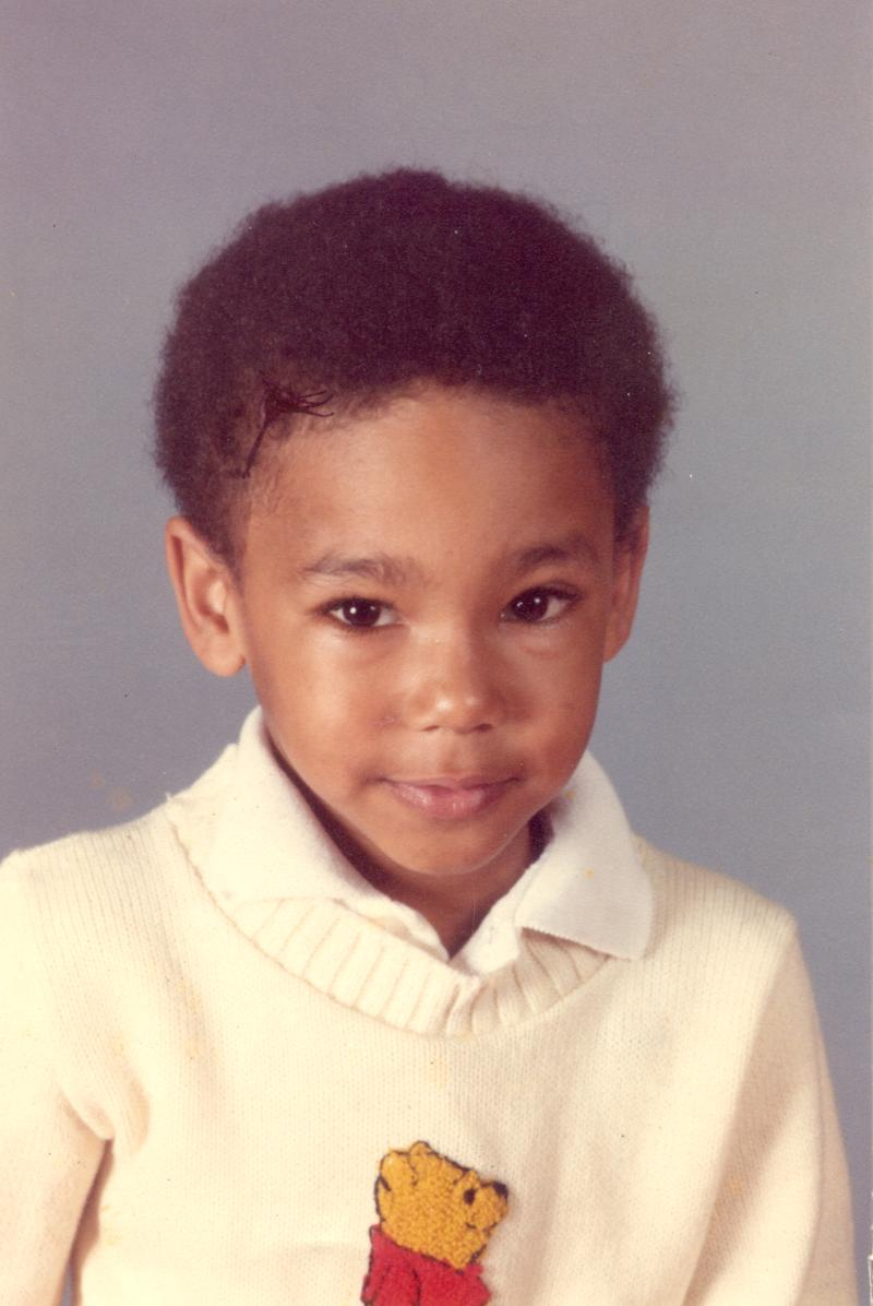 Jonathan Johnson as a kindergartener.