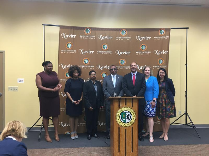 Leaders of several teacher training programs announced they're getting $13 million from the federal government to train new teachers for New Orleans.