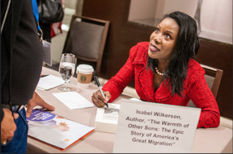 Building Networks for Leading Change - Day 2 - Isabel Wilkerson Book Signing 2