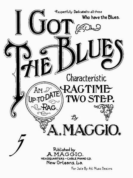 The first recorded blues song came from New Orleans.