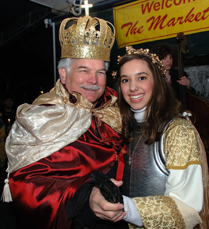 Krewe of Joan of Arc King and Maid, 2010