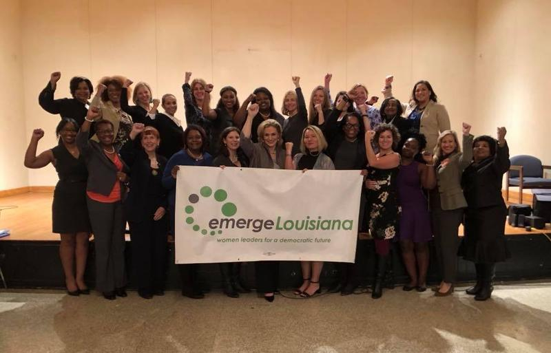 The inaugural class of Emerge Louisiana.