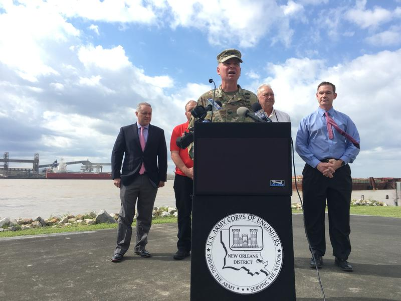 Col. Mike Clancy, U.S. Army Corps of Engineers — New Orleans District, said the Bonnet Carré Spillway will be opened on Thursday, March 8.