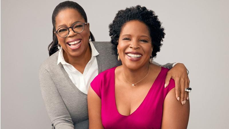 Oprah Winfrey and Tayari Jones