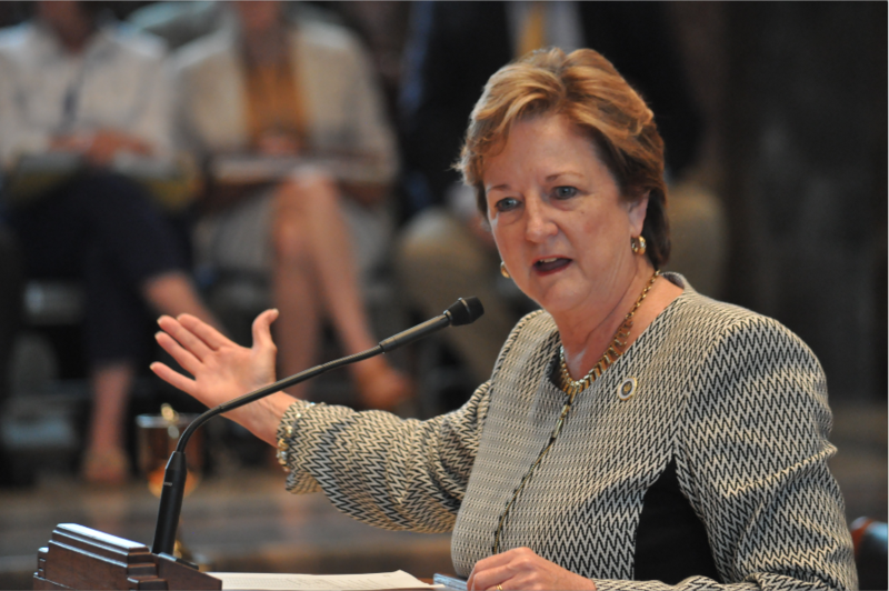 Sen. Sharon Hewitt, R-Slidell, co-chaired a subcommittee that proposed freeing up dedicated funds to provide more budget flexibility.