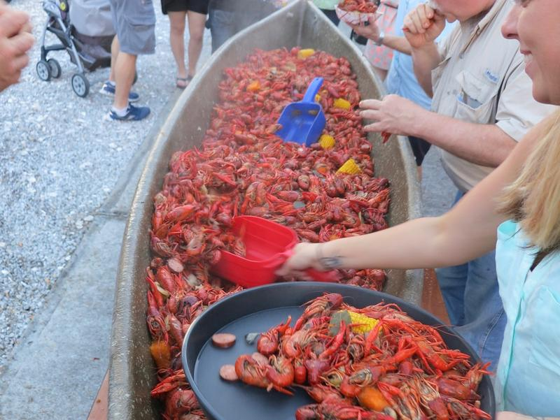 Served in huge, help-yourself piles, the crawfish boil can seem engineered for social interaction.
