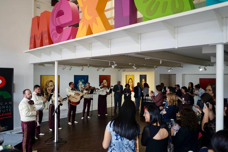 The Mexican Cultural Institute's grand opening.
