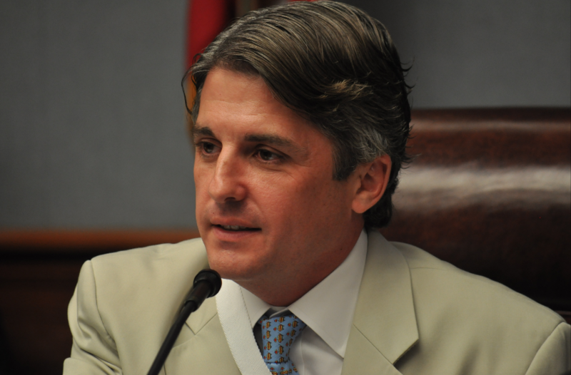 Rep. Cameron Henry, R-Metairie and chairman of the House Appropriations Committee, proposed the House budget that would cut health programs and TOPS funding.