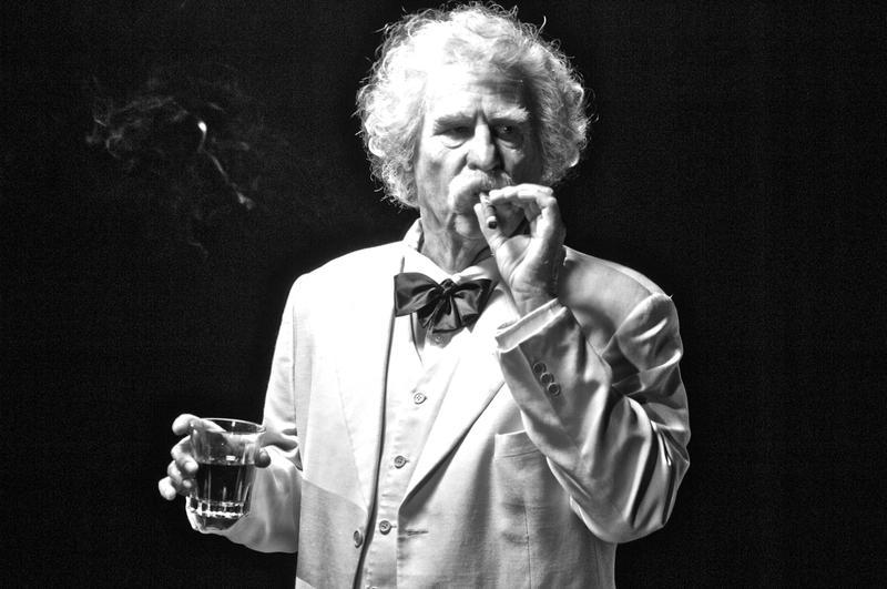 Val Kilmer as Mark Twain