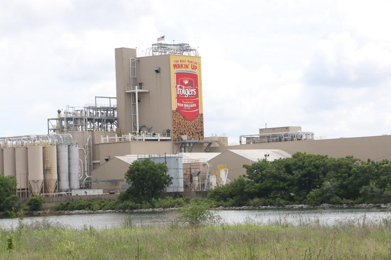 Folgers Coffee, which operates along the Industrial Canal, is by far the greatest recipient of tax breaks through the Industrial Tax Exemption Program.
