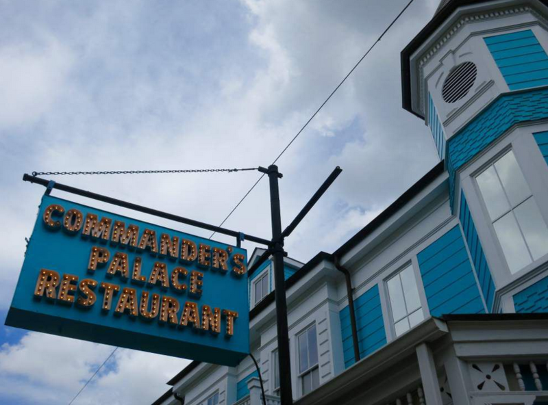 Commander's Palace restaurant in the Garden District was led for many years by Ella Brennan with her family.
