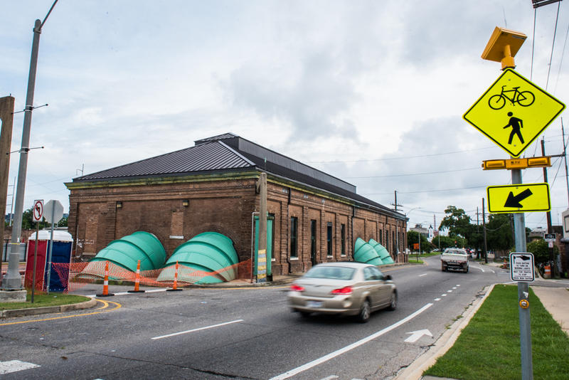 Climate change is expected to bring heavier rainstorms, which means more stress on the existing drainage system, such as this pump station in Mid-City.