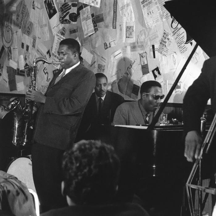 John Coltrane and Thelonious Monk