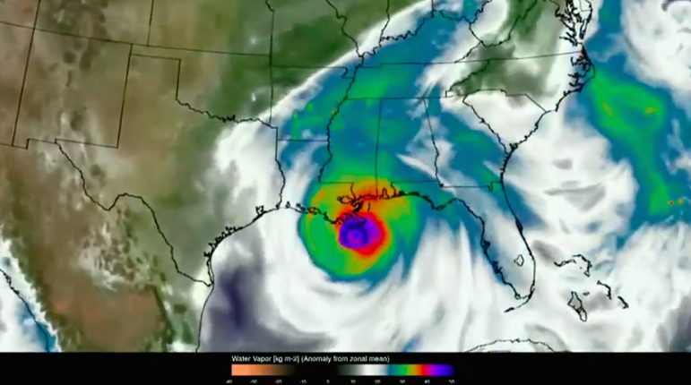 Improvements in supercomputing have allowed NASA researchers to revisit Hurricane Katrina to better understand how it formed and moved.