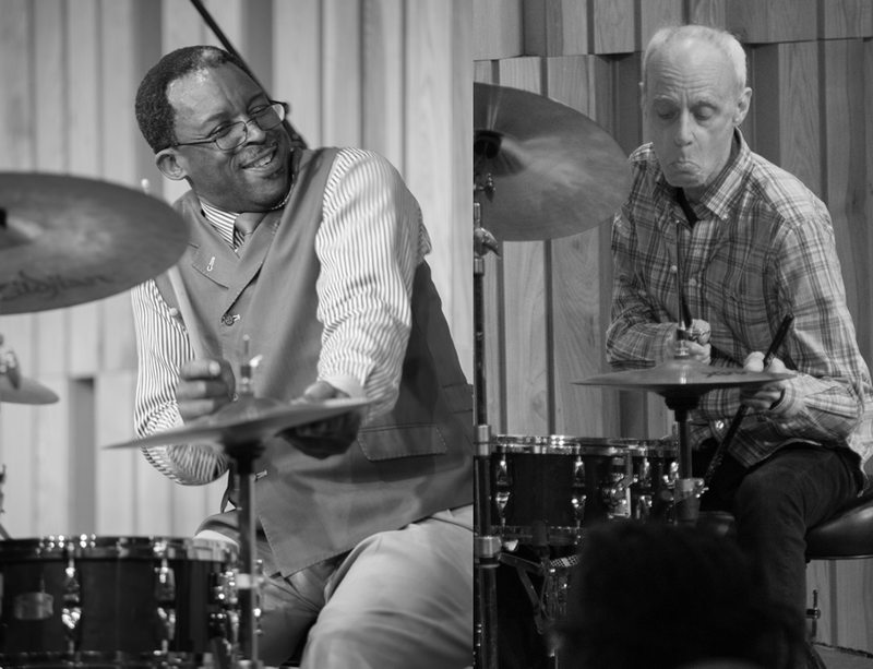 Herlin Riley and  John Vidacovich, jazz drummers