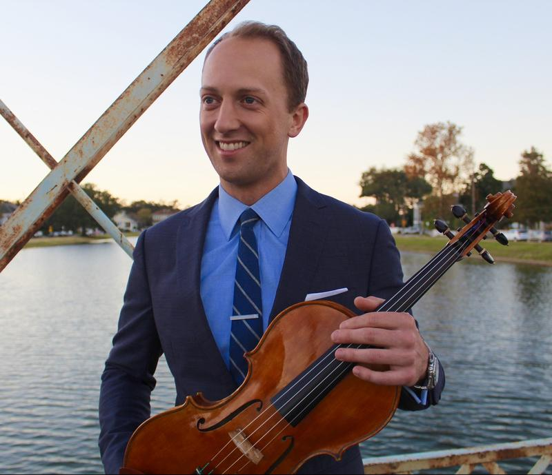 Luke Fleming, violist and artistic director, Crescent City Chamber Music Festival