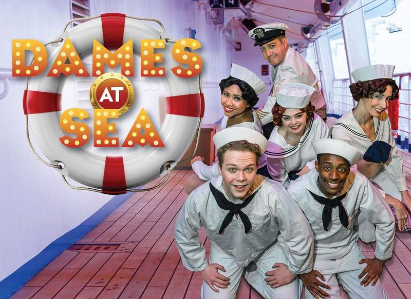 Dames at Sea, National WW 2 Museum's BB's Stage Door Canteen